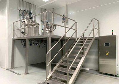 Fabricación de Reactores Industriales en Acero Inoxidable