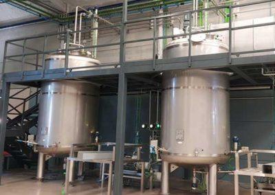 Diseño y Fabricación de Depósitos Agitadores Industriales en Acero Inosicalble