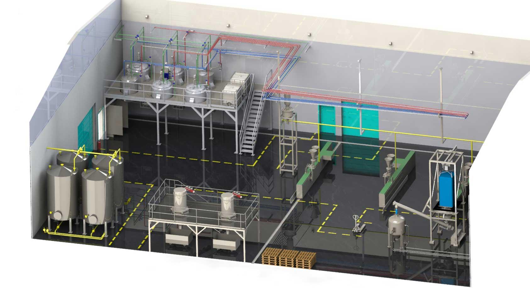Ingeniería de Procesos Productivos. Diseño, Construcción y Fabricación de Plantas de Producción Industriales